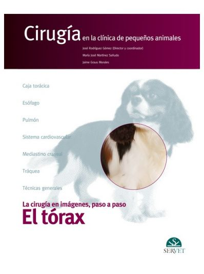 El tórax. Cirugía en la clínica de pequeños animales
