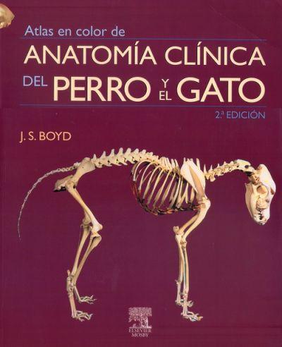 Atlas en color de anatomía clínica del perro y el gato