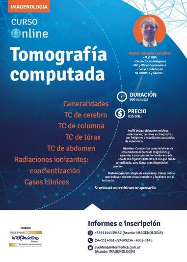 I Curso Online de Tomografía Computada en Veterinaria
