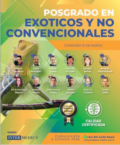 POSGRADO EN EXOTICOS Y NO CONVENCIONALES - MODULO ANFIBIOS