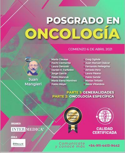 POSGRADO EN ONCOLOGIA - PARTE 1. GENERALIDADES